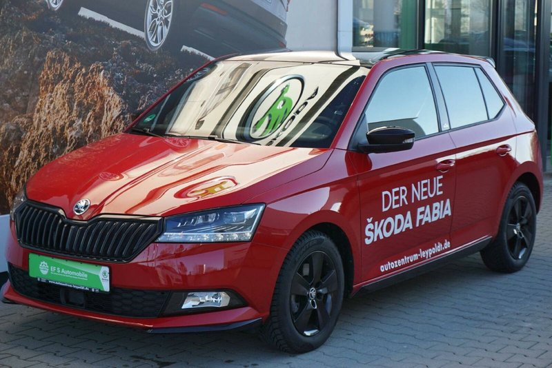 skoda fabia monte carlo jahreswagen kaufen in filderstadt. Black Bedroom Furniture Sets. Home Design Ideas